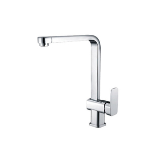 New Design Single Hole 1 Handle Brass Kitchen Faucet In Chrome
