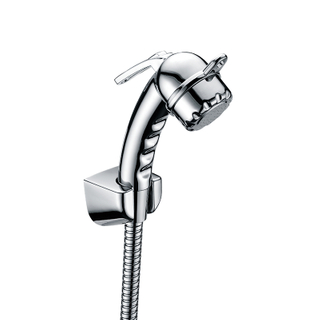 Toilet Handheld Bidet Sprayer Shattaf Cloth Diaper Sprayer ABS Polished Chrome