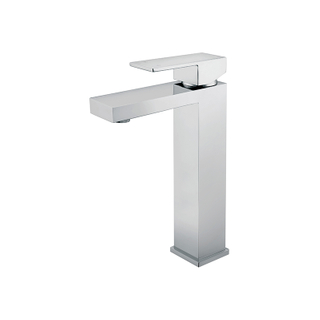 Modern Single Handle Bathroom Sink Fixtures In Chrome