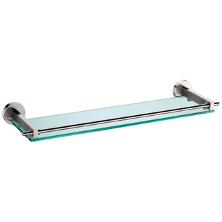 Single Glass Shelf In Chrome Plating