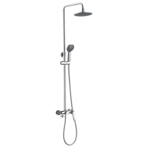 Wall Mounted Two Way Diverter Shower Faucet Mixer Set