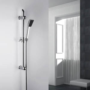 Wall Mounted Adjustable Hand Shower Head Slide Bar