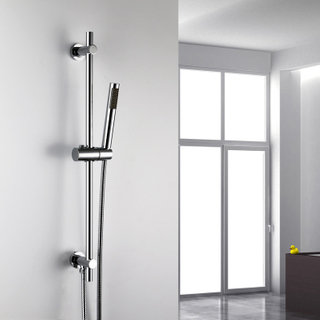 Handle Shower Head Slider Shower Bar Set