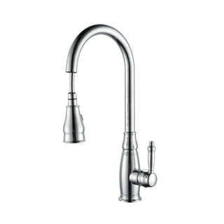 Factory Supply Amazon Best Seller Pull Down Kitchen Faucet In Chrome