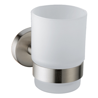 Wall Mounted Brass Add Ceramic Single Toothbrush Holder In Chrome