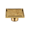 Brushed Nickel Shower Water Floor Drain Trap