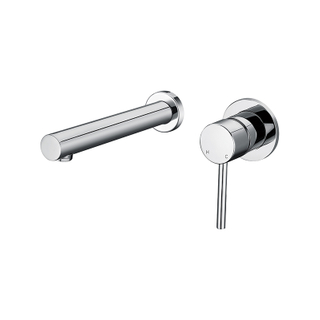 Modern Brass Bathroom Wall Shower Mixers With Single Handle
