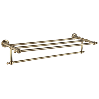 High Grade Wall Mounted Bathroom Towel Shelves In Rose Gold