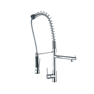 Tri-Flow 3 Way Kitchen Sink Faucet With Filtered Drinking Water Oulet