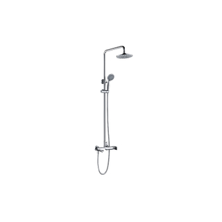 Modern Brass Bathroom Shower Faucets With Single Handle