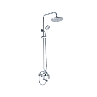 High Quality Rainfall Bathroom Shower Faucets In Chrome