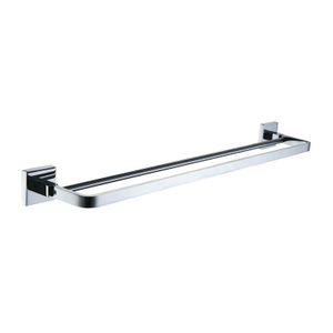 SUS304 Stainless Steel Bath Double Towel Bar