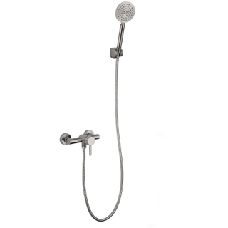 Wall Mount Stainless Steel Bathroom Accessories Rain Shower Set