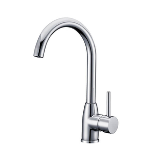 Brass Deck Mounted Kitchen Faucet | Watermark Single Lever Kitchen Sink Faucet