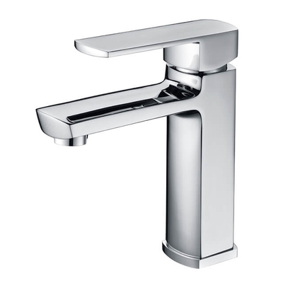 Brass Basin Faucet | Deck Mounted Bathroom Basin Faucet | Modern Chrome Vanity Sink Faucets