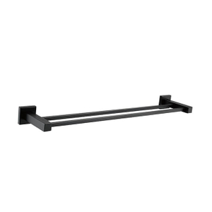 Double Towel Bar | Stainless Steel Towel Rack | Bathroom Towel Holder