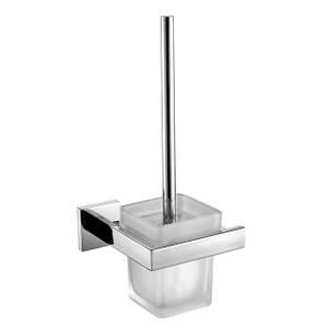 Toilet Brush Holder | Wall Mounted Bathroom Toilet Brush Holder | Stainless Steel Toilet Brush Holder