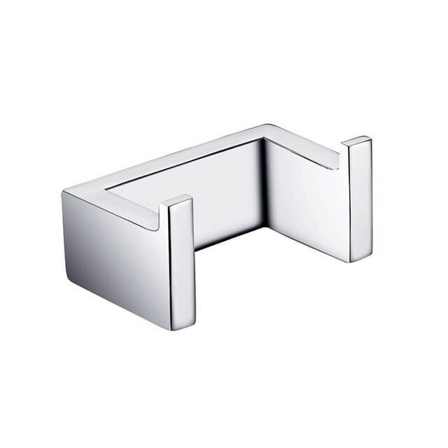 Robe Hook | Stainless Steel Robe Hook | Bathroom Wall Mounted Double Robe Hook