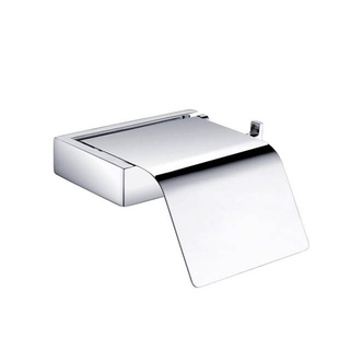 Toilet Paper Holder | SUS304 Covered Toilet Paper Holder | Bathroom Wall Mounted Toilet Paper Holder