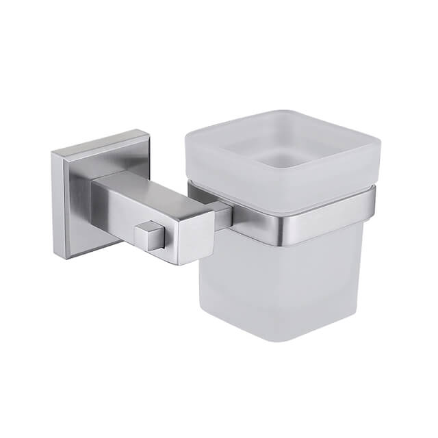 Bathroom Single Cup Holder | Stainless Steel Cup Holder for Toothbrush | Bathroom Accessories Manufacturer